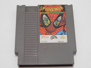Spider-man: Return Of The Sinister Six - Nes