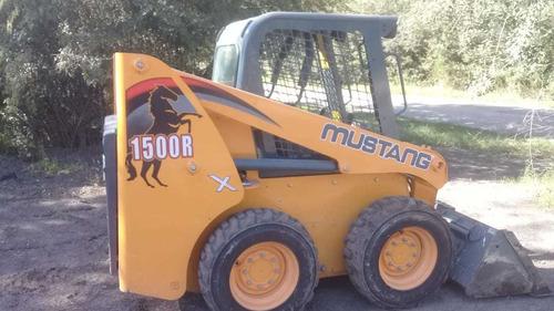 Minicargadora Mustang R1500 Año 2017 Con 2 Mil Hs Maquinasjm