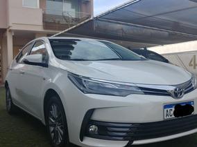 Toyota Corolla 1.8 Xei Cvt Pack Cuero Automatico Blanco 2018