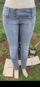 002ad0012 Calça Jeans Com Strech Disparate - Calças Jeans Feminino no Mercado ...