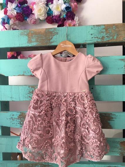 Vestido De Niña Color Palo De Rosa Mayoral