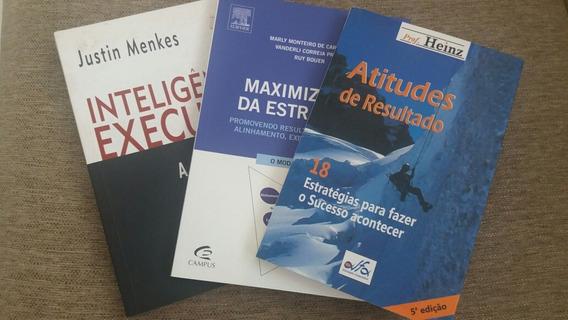 Combo 3 Livros Administração