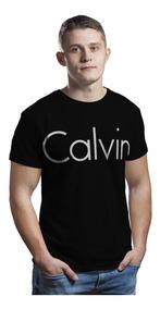 Camiseta Blusas Manga Curta Camisa Roupas Calvin Klein 2