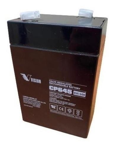 Imagen 1 de 3 de Batería Ups 6v 4.5ah Pila Alarma Cerco Electrico Tienda