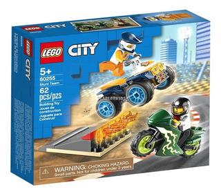 Lego City Equipo Acrobacia Moto 60255 62 Piezas Orig Scarlet