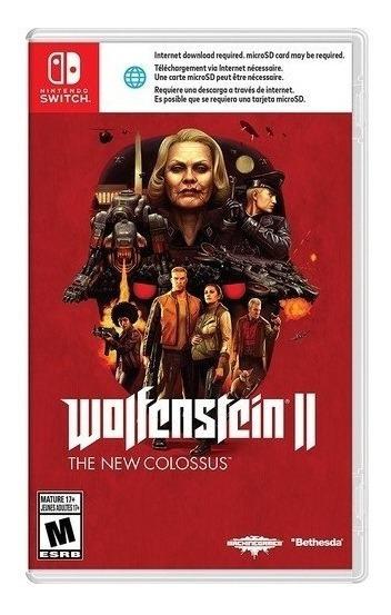 Wolfenstein Ii: The New Colossus - Switch Lacrado