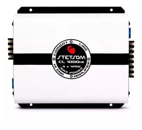 Modulo Amplificador Stetsom Cl 1000 He 4 Canais 2 Ohms