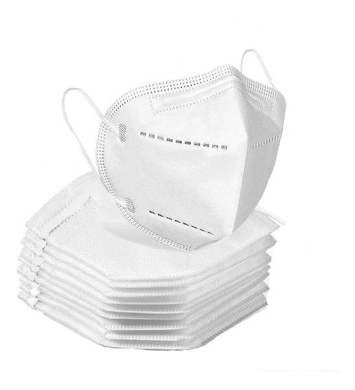 Cubrebocas Mascarilla Kn95 5 Capas 3d Respirador 20 Piezas