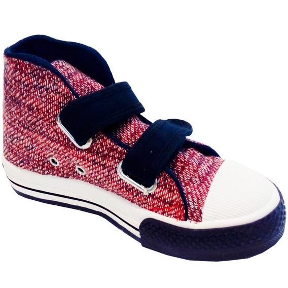 Zapatillas Niños Con Abrojo Marca Small Modelo Seth (0305)