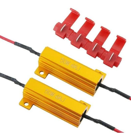 Resistor Canceller Canbus Lâmpada Led 50w 6ohm - Par