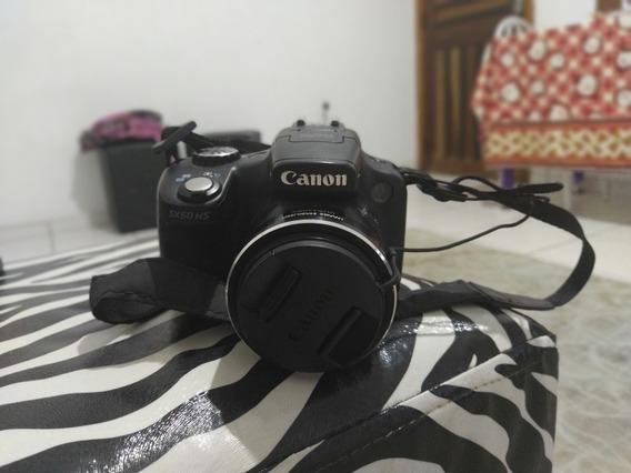 Câmera Fotográfica Semi Profissional - Powershot Sx50 Hs