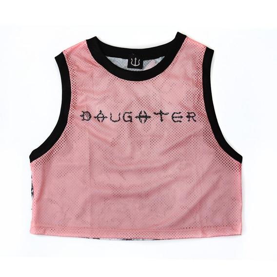 Camiseta Regata Cropped F.e.w ® Fierceness Daughters Shades