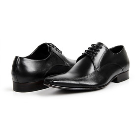 Sapato Social Masculino Bico Fino Bigioni 100% Couro