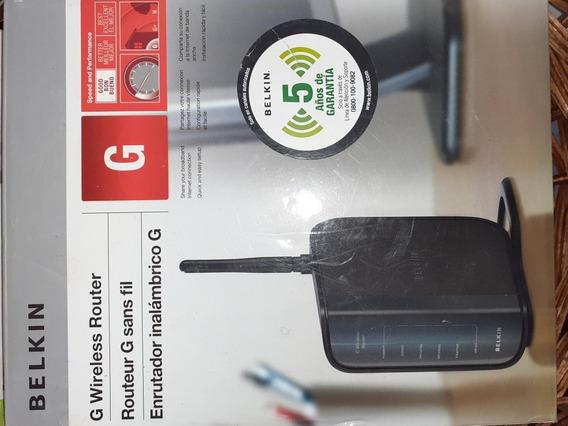 Belkin G Wireless Router Modelo F5d7234-4 V3