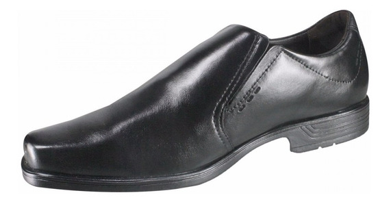 Zapato Hombre Cuero Negro Talles Grandes Pegada 45 46 47 48