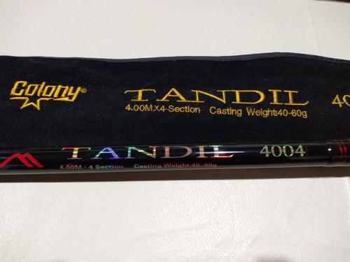 Caña Colony Tandil 4004 Negra (no Cypress, Bando, Shimano)
