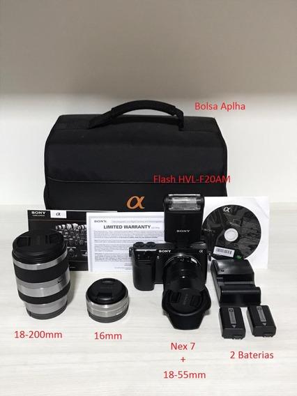 Câmera Sony Nex7