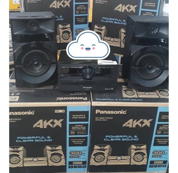 Equipo De Sonido Panasonic Akx110