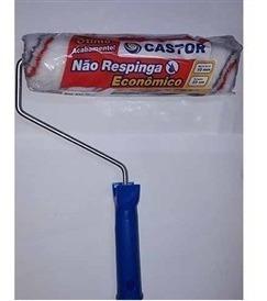 Rolo 23cm C/garfo Antirespingo - Castor