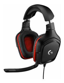 Auriculares Gamer Logitech G332 Se Estéreo Con Micrófono Amv