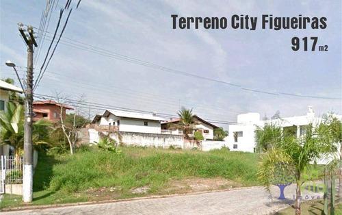 Venda Terreno Exclusivo À Venda No City Figueiras, 917 M² - Vorstadt - Blumenau/sc - Te0201