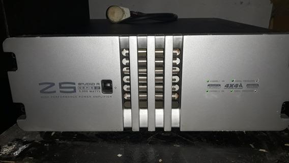 Amplificador Studio R Z5 Usado.não X5 Studio R.