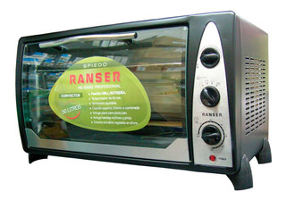 Horno Electrico Ranser He-ra50 Grill 1600w 50 Litros