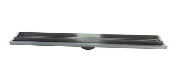 Ralo Linear Oculto M1nox De 60 Cm X 6 Cm Inox 304