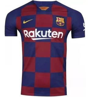 Camisa Barcelona Masculina + Brinde Frete Grátis