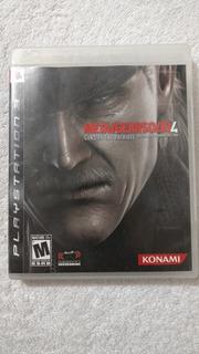Metal Gear Solid 4 Para Playstation 3 Oportunidad...!!!