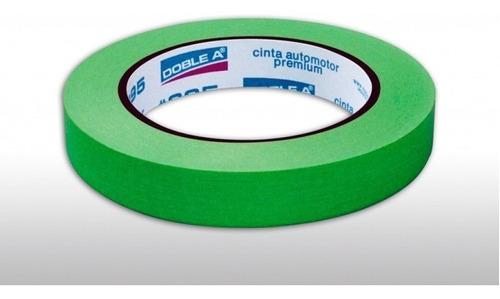 Cinta De Enmascarar Aa 18mm C995 Verde Detail Doble A