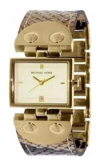 Relógio Feminino Michael Kors Pulseira De Couro Nunca Usado