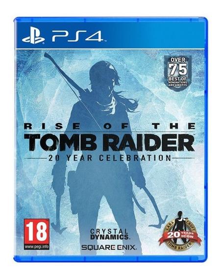 Rise Of The Tomb Raider - Ps4 -novo - Mídia Física Lacrado