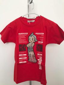 Playera Infantil Astroboy Holograma Original De Japón