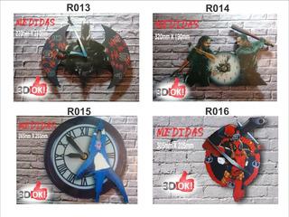 Reloj De Pared Al Por Mayor X10 Unidades