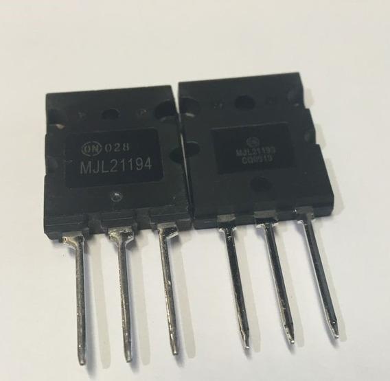 Transistor Mjl 2193g 2194g ( Par )
