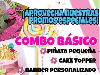 Combos Fiesteros Piñata Cotillones - La Tiendita De Mana