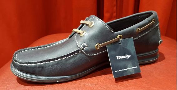 Zapato Mocasin Dunlop Hombre