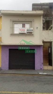 Casa Assobradada Para Venda No Bairro Jardim Danfer, Duas Casas Com 1 Dorm, Sala, Coz, Wc. 100 M - 643
