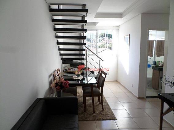 Cobertura Com 2 Dormitórios À Venda, 108 M² Por R$ 330.000 - Piracicamirim - Piracicaba/sp - Ap0712