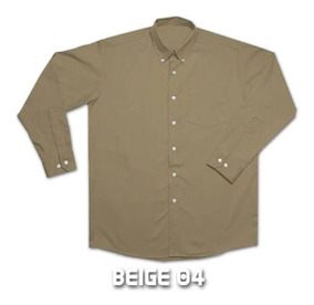 Camisas Gabardina Yazbek Trabajo Uniformes 8 Colores M/l
