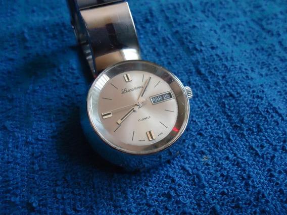 Lucerna Cazuela Reloj Suizo Vintage Retro Coleccion