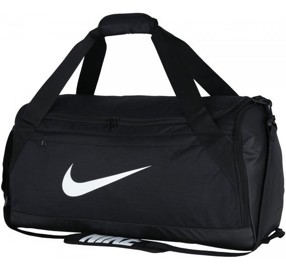 Mala Nike Duffel Brasília Média Original Preta