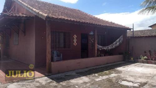 Imagem 1 de 13 de Casa Com 2 Dormitórios À Venda, 129 M² Por R$ 390.000,00 - Parque Verde Mar - Mongaguá/sp - Ca4081