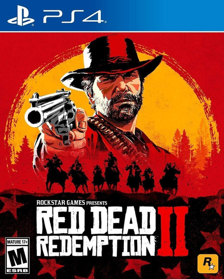 Red Dead Redemption 2 - Ps4 - Midia Fisica!