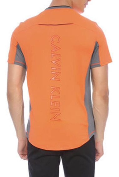 Playera Ck Calvin Klein Performance Regular Fit Neón C288