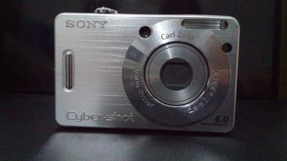 Câmera Sony Cyber Shot 6.0 Mega Pixels