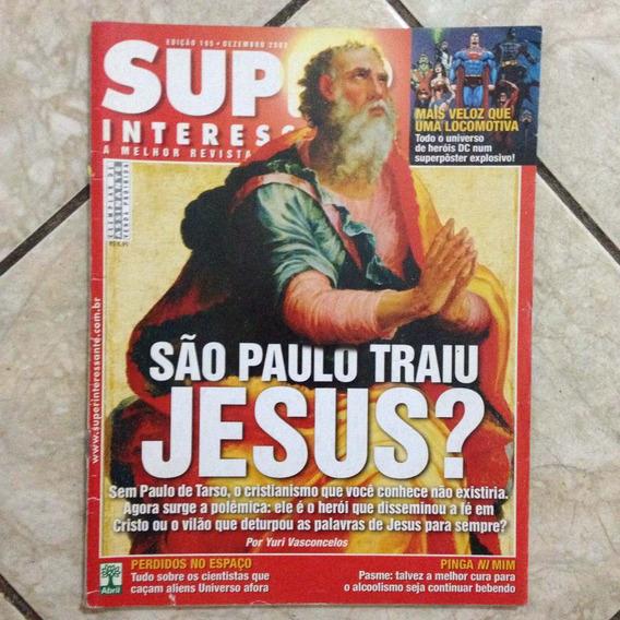 Revista Super Interessante 195 12/2003 São Paulo Traiu Jesus