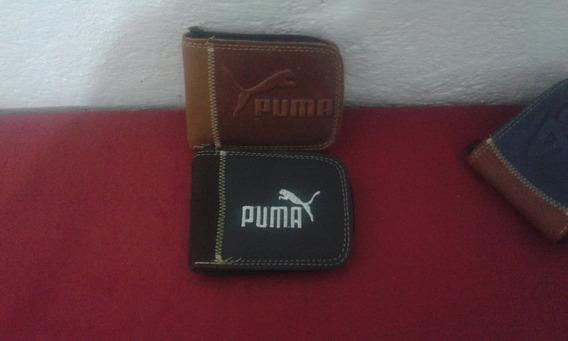 Carteira De Couro Puma