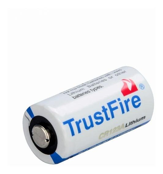 Pila Trustfire Cr123a Litio 3 Volts Original Empaque Sellado